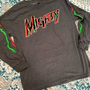 NWT MIGHTY HEALTHY MENS LONG SLEEVES L